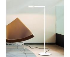 Vibia Swing LED Stehleuchte B: 25 H: 108 T: 55 cm, weiß matt 051693/10, EEK: A+. Diese Leuchte enthält eingebaute LED-Lampen. A++ (LED), A+ (LED), A (LED). Die Lampen können in der Leuchte nicht ausgetauscht werden.