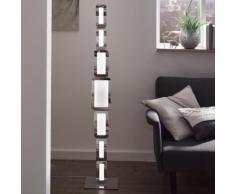 Wofi Saga LED Stehleuchte mit Dimmer B: 25 H: 136 T: 25 cm, chrom/weiß 3526.07.01.6000, EEK: A+