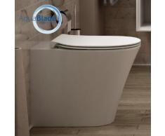 Ideal Standard Connect Air Stand-Tiefspül-WC, AquaBlade L: 54,5 B: 36 cm weiß ohne Beschichtung E004201