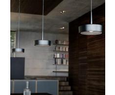RIBAG ARVA Draft & Craft LED Pendelleuchte mit Linse 3000k 3-flammig B: 150 H: 250 cm, schwarz/lava 4111.120.30.13+4111.150.03.2#3, EEK: A+