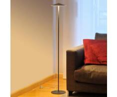 Milan Pla LED Stehleuchte Ø 20 H: 120,5 cm, anthrazitgrau 6603, EEK: A+. Diese Leuchte enthält eingebaute LED-Lampen. A++ (LED), A+ (LED), A (LED). Die Lampen können in der Leuchte nicht ausgetauscht werden.