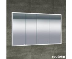 Sprinz Classical-Line Unterputz Spiegelschrank umlaufend beleuchtet B: 140 H: 70 T: 15,5 Korpus aluminium matt / Rückwand verspiegelt C041400AMAM29E+LL1400, EEK: A+