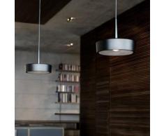 RIBAG ARVA Draft & Craft LED Pendelleuchte mit Linse 2700k 2-flammig B: 80 H: 250 cm, schwarz/lava 4111.120.27.13+4111.080.02.2#2, EEK: A+
