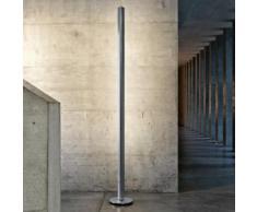 belux ypsilon-04-AL LED Stehleuchte mit Dimmer Ø 24 H: 200 cm, aluminium YPS04-17-8027-TD, EEK: A+. Diese Leuchte enthält eingebaute LED-Lampen. A++ (LED), A+ (LED), A (LED). Die Lampen können in der Leuchte nicht ausgetauscht werden.