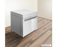 Duravit Fogo Rollcontainer B: 50 H: 58 T: 55 cm weiß hochglanz FO954308585