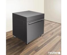 Duravit Fogo Rollcontainer B: 50 H: 58 T: 55 cm graphit matt FO954304949
