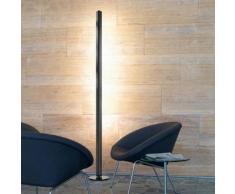 belux ypsilon-04-SW LED Stehleuchte mit Dimmer Ø 24 H: 200 cm, schwarz YPS04-18-8027-TD, EEK: A+. Diese Leuchte enthält eingebaute LED-Lampen. A++ (LED), A+ (LED), A (LED). Die Lampen können in der Leuchte nicht ausgetauscht werden.