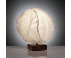 belux babycloud LED Tischleuchte Ø 17 H: 23 cm, nussbaum/ecru CLD40-12-8027-00, EEK: A+. Diese Leuchte enthält eingebaute LED-Lampen. A++ (LED), A+ (LED), A (LED). Die Lampen können in der Leuchte nicht ausgetauscht werden.