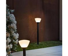 Osram Endura Style Lantern Bowl LED Pollerleuchte Ø 21 H: 92 cm, dunkelgrau 4058075032460, EEK: A+