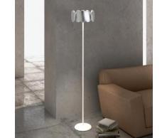 Milan Obolo LED Stehleuchte Ø 30,1 H: 150,9 cm, nickel/satin 6496+2792, EEK: A+. Diese Leuchte enthält eingebaute LED-Lampen. A++ (LED), A+ (LED), A (LED). Die Lampen können in der Leuchte nicht ausgetauscht werden.