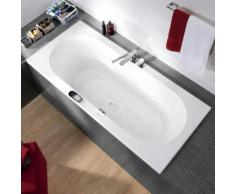 Villeroy & Boch Loop & Friends OVAL Duo Rechteck Badewanne m. Whirlpoolsys. L:190 B:90cm starwhite mit Special CombiPool Invisible UIP199LFO2A1V96, EEK: A+. Dieser Whirlpool enthält eingebaute LED-Lampen. A++ (LED), A+ (LED), A (LED). Die Lampen können...