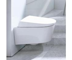 Geberit AquaClean Sela Wand-Dusch-WC Komplettanlage, L: 57,8 B: 38,5 cm 146140111