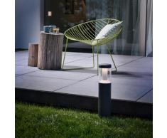Osram Endura Style Lantern Modern LED Pollerleuchte B: 18,6 H: 50 T: 7,5 cm, dunkelgrau 4058075033290, EEK: A+