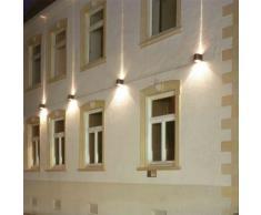 Albert Wandstrahler B: 14 H: 15 T: 16 cm, schwarz 662185, EEK: C. Diese Leuchte ist geeignet für Leuchtmittel der Energieklassen: C, D, E.