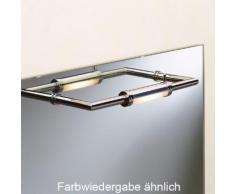 Top Light Better Mirror Spiegelleuchte, Einbau B: 30,5 T: 10,3 cm, nickel matt 2-0752, EEK: C. Diese Leuchte ist geeignet für Leuchtmittel der Energieklassen: C, D, E.