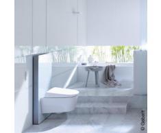 Geberit Monolith Plus Sanitärmodul für Wand-WC H: 101 cm Glas weiß 131222SI5, EEK: A+