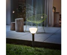 Osram Endura Style Lantern Bowl LED Pollerleuchte Ø 21 H: 55 cm, dunkelgrau 4058075032446, EEK: A+
