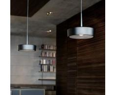 RIBAG ARVA Draft & Craft LED Pendelleuchte mit Linse 3000K 2-flammig B: 80 H: 250 cm, schwarz/lava 4111.120.30.13+4111.080.02.2#2, EEK: A+