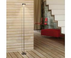 Top Light Puk Eye Floor LED Stehleuchte ø13 H:132 cm, nickel matt 6-0813203-LED, EEK: A+