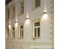 Albert Wandstrahler B: 14 H: 15 T: 16 cm, silber 692185, EEK: C. Diese Leuchte ist geeignet für Leuchtmittel der Energieklassen: C, D, E.