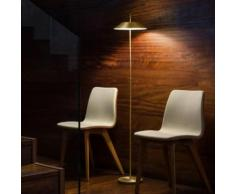 Vibia Mayfair LED Stehleuchte mit Dimmer Ø 30 H: 147 cm, gold matt 551520/16, EEK: A+
