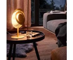 Wofi Lauren LED Tischleuchte Ø 24 H: 35 cm, gold matt 8544.01.15.7000, EEK: A+