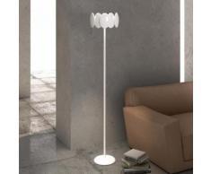 Milan Obolo LED Stehleuchte Ø 30,1 H: 150,9 cm, weiß/satin 6496+2492, EEK: A+. Diese Leuchte enthält eingebaute LED-Lampen. A++ (LED), A+ (LED), A (LED). Die Lampen können in der Leuchte nicht ausgetauscht werden.