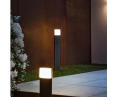 Osram Endura Style Lantern Modern LED Pollerleuchte Ø 11 H: 90 cm, dunkelgrau 4058075033375, EEK: A+