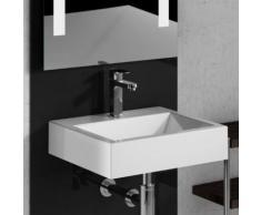 Treos Serie 710 Handwaschbecken B: 42 T: 36 cm mit Hahnloch 710.04.4236