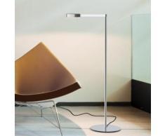 Vibia Swing LED Stehleuchte B: 25 H: 108 T: 55 cm, chrom 051601/10, EEK: A+. Diese Leuchte enthält eingebaute LED-Lampen. A++ (LED), A+ (LED), A (LED). Die Lampen können in der Leuchte nicht ausgetauscht werden.