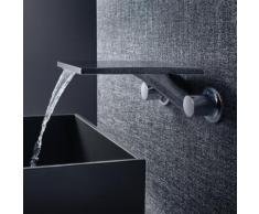 AXOR Massaud 3-Loch Waschtischarmatur für Wandmontage Ausladung: 259 mm 18115000