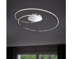 Wofi Opus LED Deckenleuchte B: 82 H: 20 T: 65 cm, chrom 9422.01.01.6700, EEK: A+