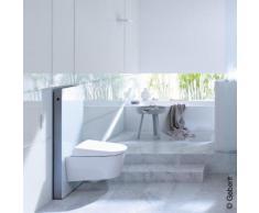 Geberit Monolith Sanitärmodul für Wand-WC H: 101 cm Glas weiß 131022SI5