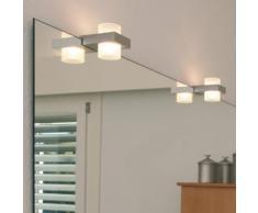 Oligo SMART MIRROR Spiegelleuchte Ø 6 H: 8 T: 11 cm, aluminium poliert/weiß matt 40-908-30-05/21, EEK: A+. Diese Leuchte ist geeignet für Leuchtmittel der Energieklassen: A+, A, B, C, D, E.