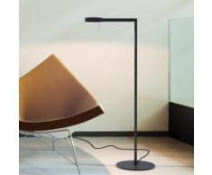 Vibia Swing LED Stehleuchte B: 25 H: 108 T: 55 cm, graphit 051618/10, EEK: A+. Diese Leuchte enthält eingebaute LED-Lampen. A++ (LED), A+ (LED), A (LED). Die Lampen können in der Leuchte nicht ausgetauscht werden.