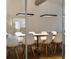 belux karo-30 LED Pendelleuchte symmetrisch B: 54 H: 204 T: 54 cm, schwarz KRO30-13-8040-00, EEK: A+. Diese Leuchte enthält eingebaute LED-Lampen. A++ (LED), A+ (LED), A (LED). Die Lampen können in der Leuchte nicht ausgetauscht werden.