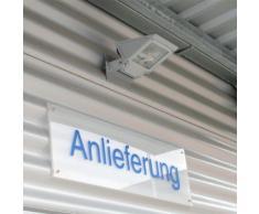 Albert Wandstrahler B: 19 H: 12,5 T: 29 cm, weiß 682111, EEK: C. Diese Leuchte ist geeignet für Leuchtmittel der Energieklassen: C, D, E.
