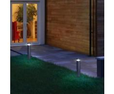 Osram Endura Style Cylinder LED Pollerleuchte Ø 10 H: 50 cm, edelstahl 4058075032583, EEK: A+