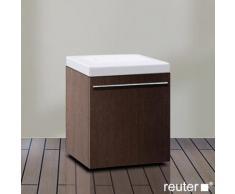 Duravit X-Large Rollcontainer B: 40 H: 51 T: 40 cm, 1 Auszug Front weiß hochglanz / Korpus weiß hochglanz XL270402222