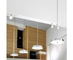 belux koi neo LED Pendelleuchte Push-Dim 4000K Ø 57.6 H: 200 cm, chrom KOI30-13-8040-TD, EEK: A+. Diese Leuchte enthält eingebaute LED-Lampen. A++ (LED), A+ (LED), A (LED). Die Lampen können in der Leuchte nicht ausgetauscht werden.
