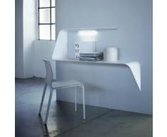 MDF Italia MAMBA Wandsekretär mit LED rechts L: 1350 H: 930 B: 400 mm, weiß matt F101201-0001, EEK: A+