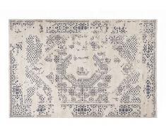 Teppich 110x60 beige/blau FRESKO