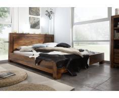 Palisander Möbel Bett 180x200 Sheesham Massivholz METRO LIFE #137