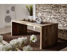 Palisander Möbel Schreibtisch Sheesham Massivholz NATURE GREY #712