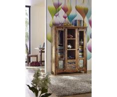 SPIRIT Highboard #21 Indisches Altholz lack.