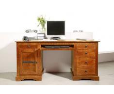 OXFORD Schreibtisch #0522 Akazie honig massiv