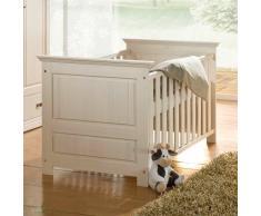 ODETTE Babybett Kiefer massiv weiß