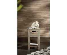 Palisander Holz massiv Beistelltisch Sheesham Möbel NATURE GREY #30