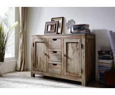 Sheesham Möbel Sideboard Palisander Holz massiv NATURE GREY #83