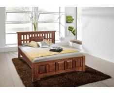 Koloniales Bett 140x200 massiv Akazie Holz CLASSIC OXFORD #261